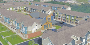Quarters Ames Aerial view
