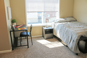 Quarters Ames bedroom