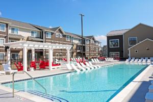 Quarters Ames resort-style pool