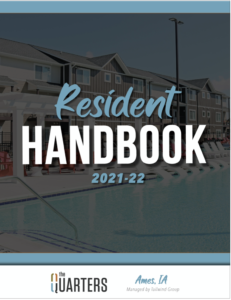 Quarters Ames Resident Handbook